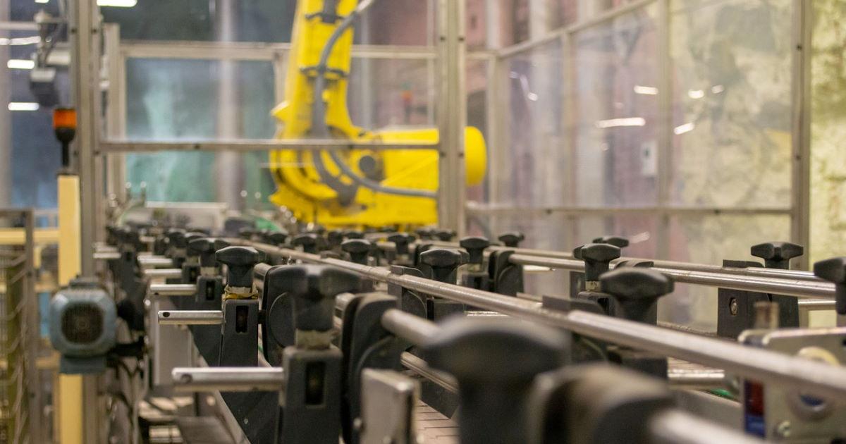 robot de production